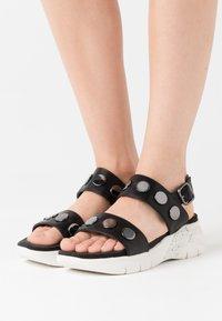 Tamaris - Platform sandals - black - 0