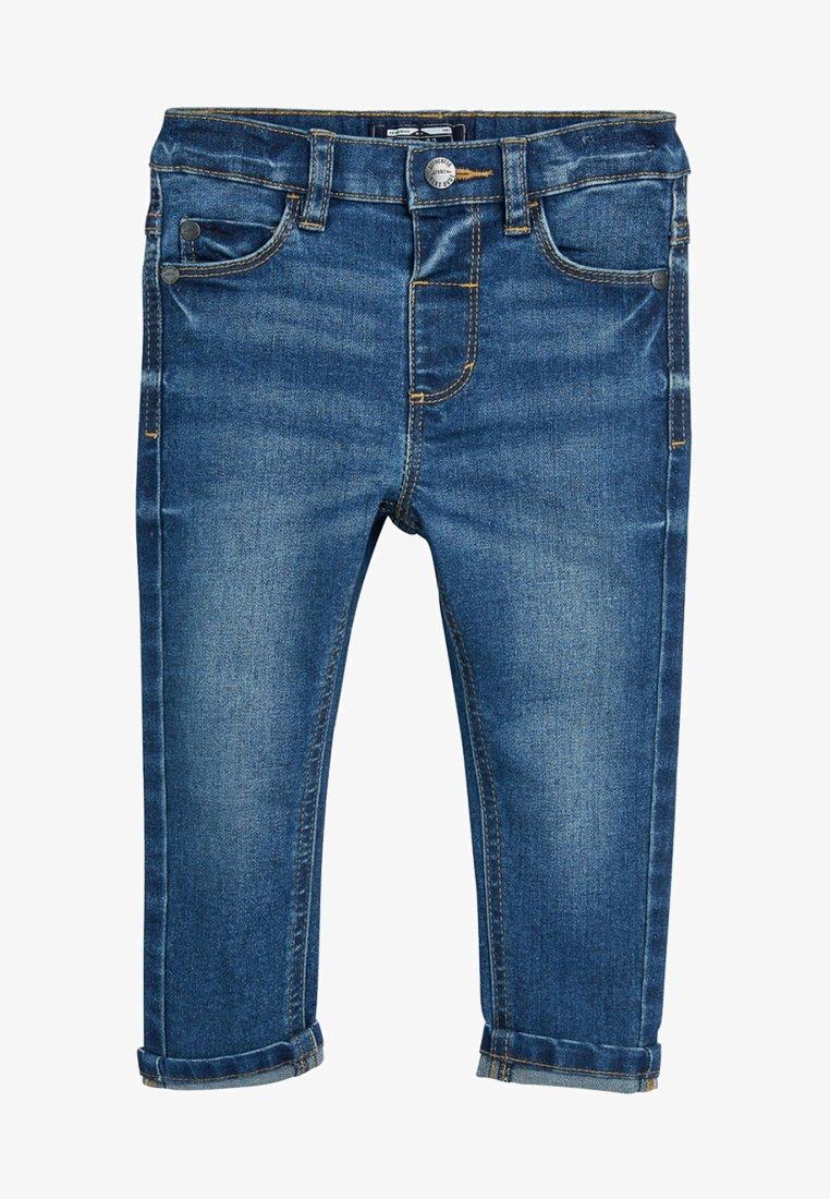 Next - Jean droit - mottled blue