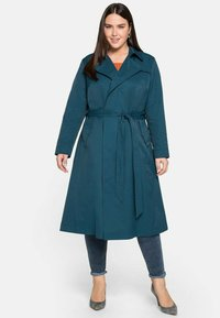 Sheego - Trenchcoat - petrol - 1