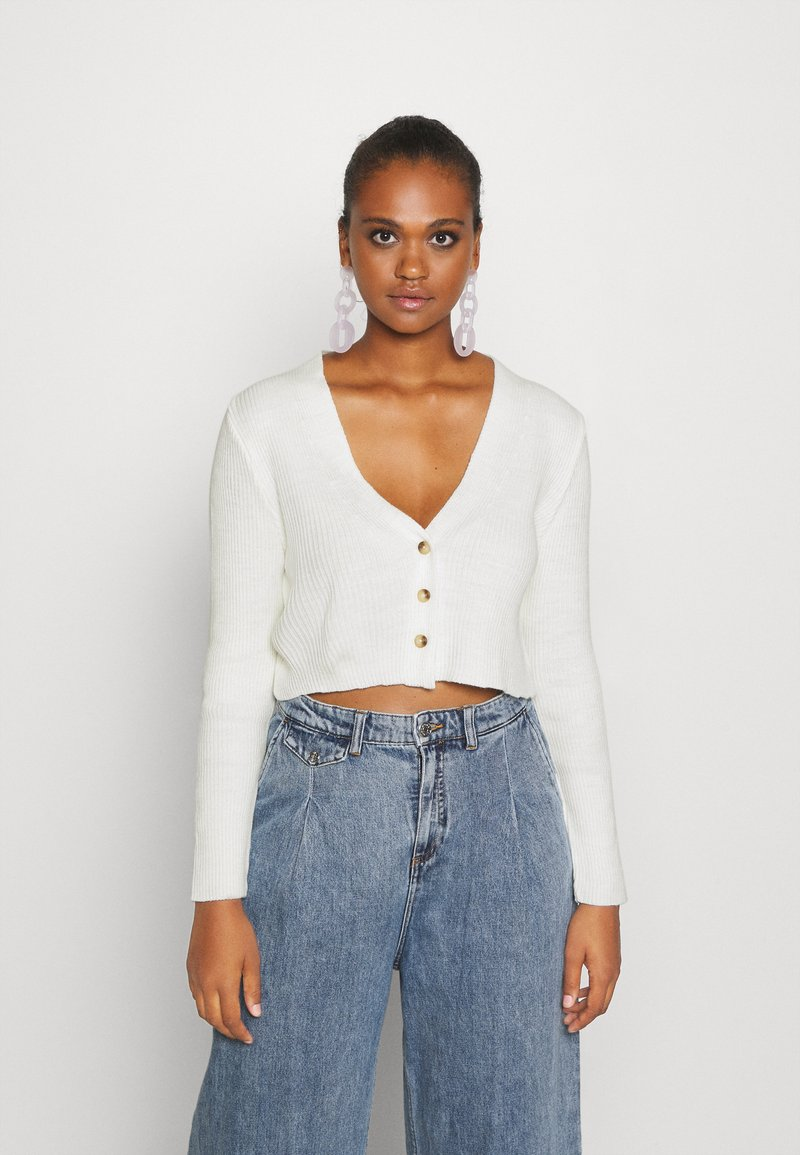 Missguided - Cardigan - offwhite