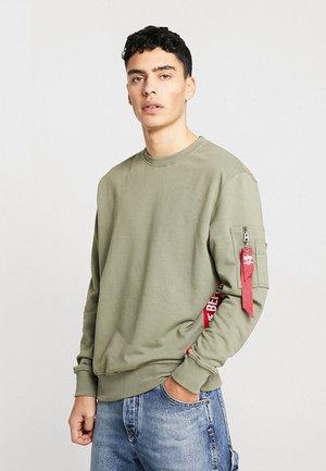 INLAY - Sweatshirt - oliv