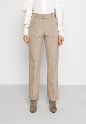 HEAVY RELAXED FIT TROUSERS - Broek - oatmeal
