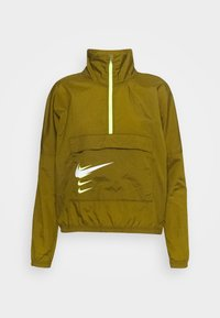 Nike Performance - RUN - Sports jacket - olive flak/volt/white - 4