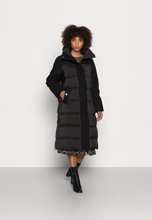STORMY - Kabát zprachového peří - black