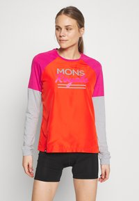 Mons Royale - TARN FREERIDE WIND - Funktionsshirt - punk baby - 0