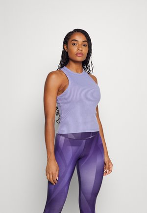 LIFESTYLE RACER TANK - Topper - periwinkle