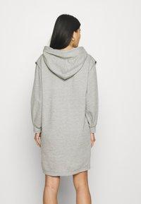 Cream - MISKA DRESS - Day dress - grey melange - 2