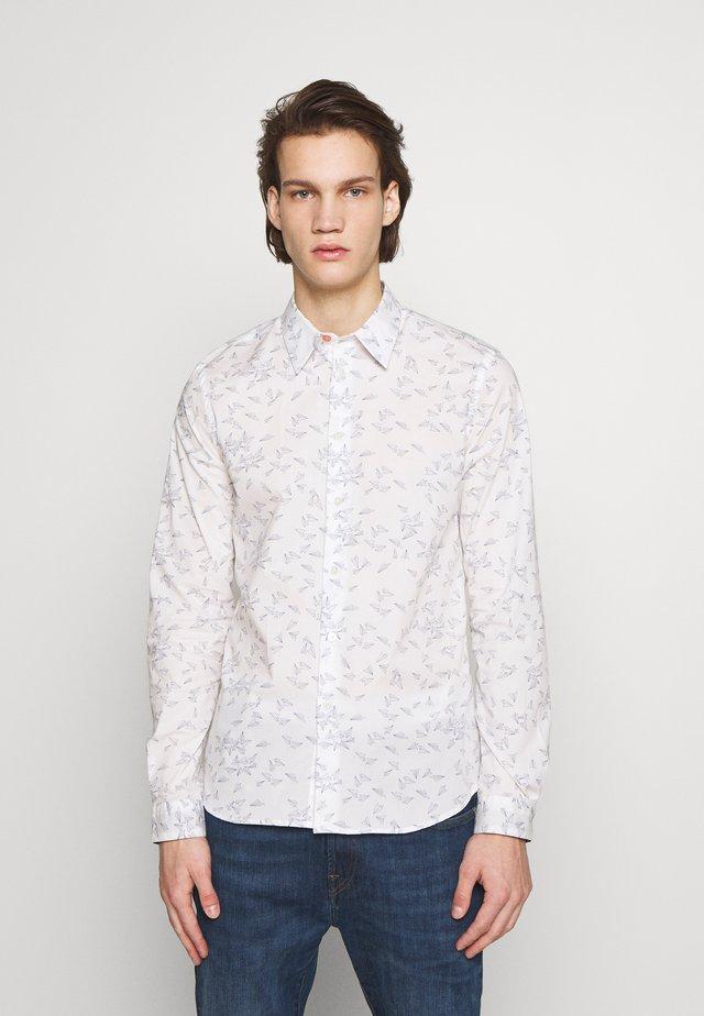 MENS TAILORED FIT SHIRT PAPER PLANE - Shirt - white