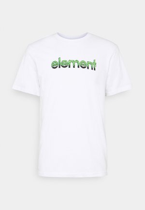 GHOSTBUSTERS X ELEMENT PROTON CAPSULE  - T-shirt print - optic white