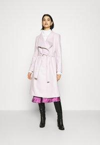 Ted Baker - ROSE - Classic coat - dusky pink - 0