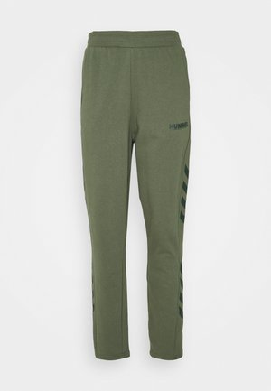 LEGACY PANTS - Tracksuit bottoms - beetle