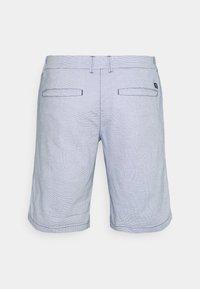 TOM TAILOR DENIM - Shortsit - blue/white - 1