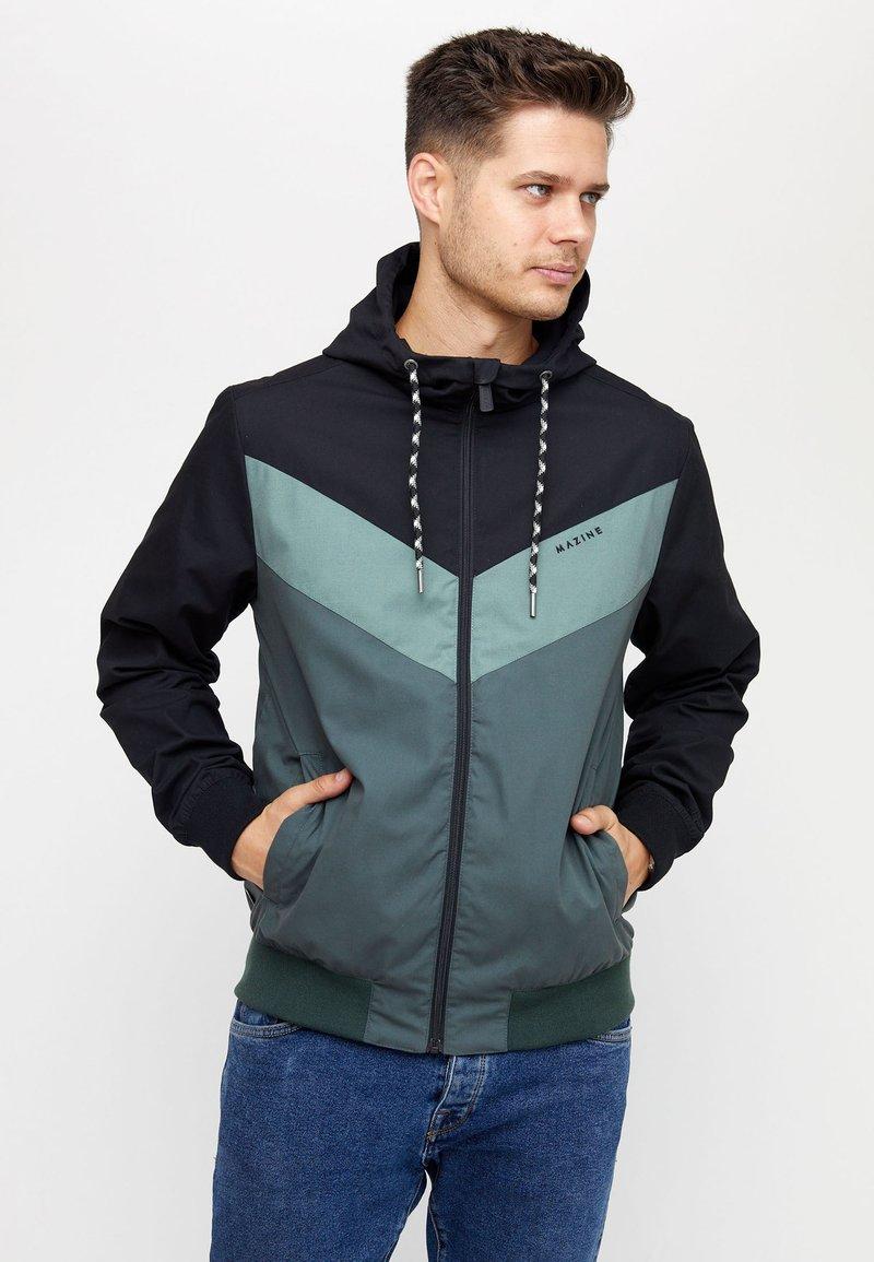 Mazine - DUNS - Light jacket - black/bottle