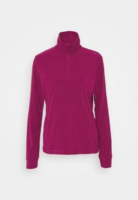 WOMAN - Fleece jumper - magenta