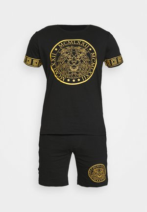 LION SET  - Shortsit - black