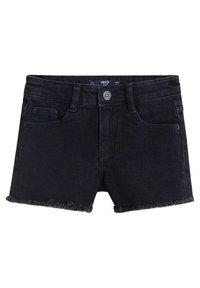 Mango - ISABEL - Shorts di jeans - black denim - 0