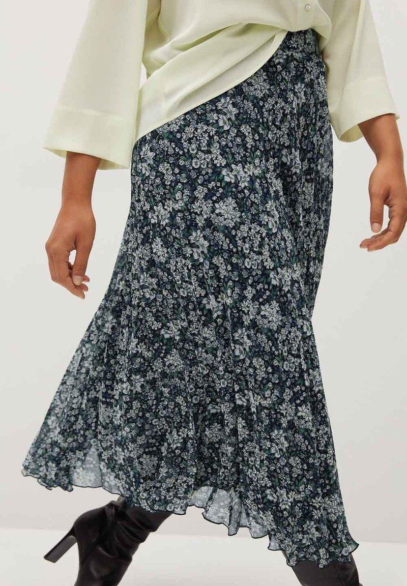 Violeta by Mango - PARADIS - A-line skirt - blau