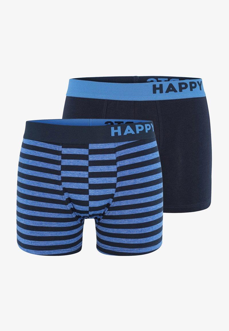 Happy Shorts - 2 PACK - Pants - stripes