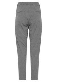PULZ - PXVICTORIA SPECIAL FAIR OFFER - Trousers - medium grey melange - 7