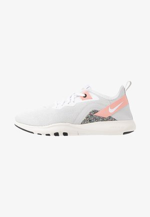 FLEX TRAINER 9 - Obuwie treningowe - vast grey/white/coral stardust/phantom