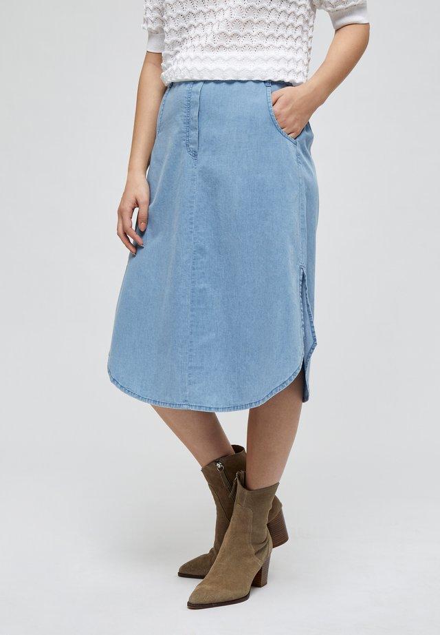 NIKIA - A-lijn rok - powder blue