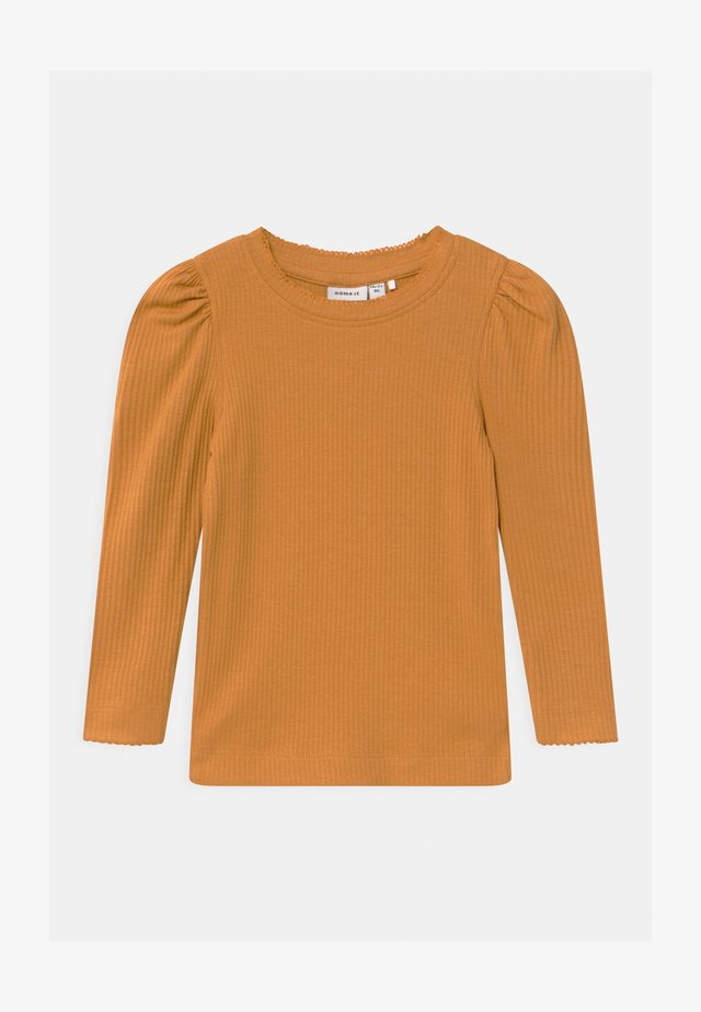 Langærmede T-shirts - spruce yellow