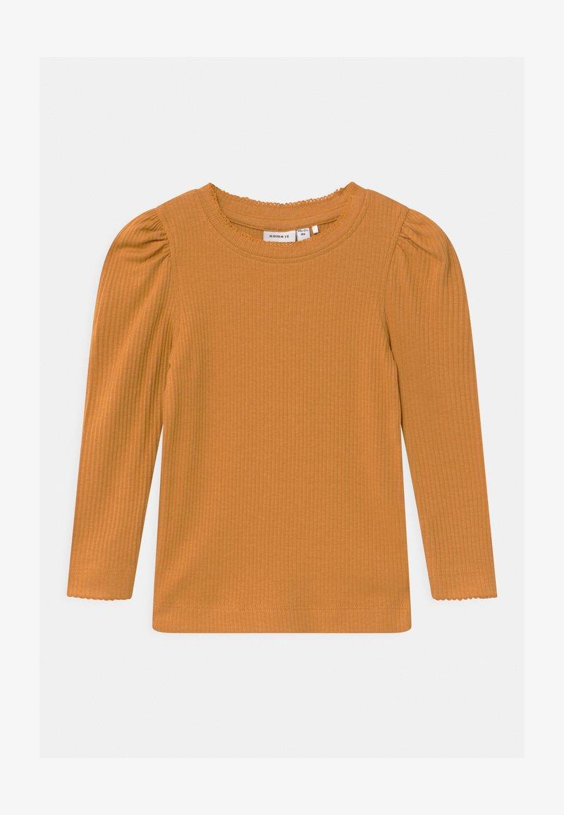 Name it - Top sdlouhým rukávem - spruce yellow