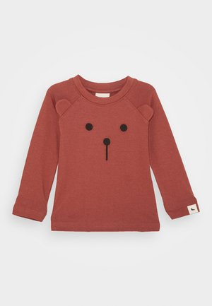 BEAR BABY UNISEX - Long sleeved top - brick