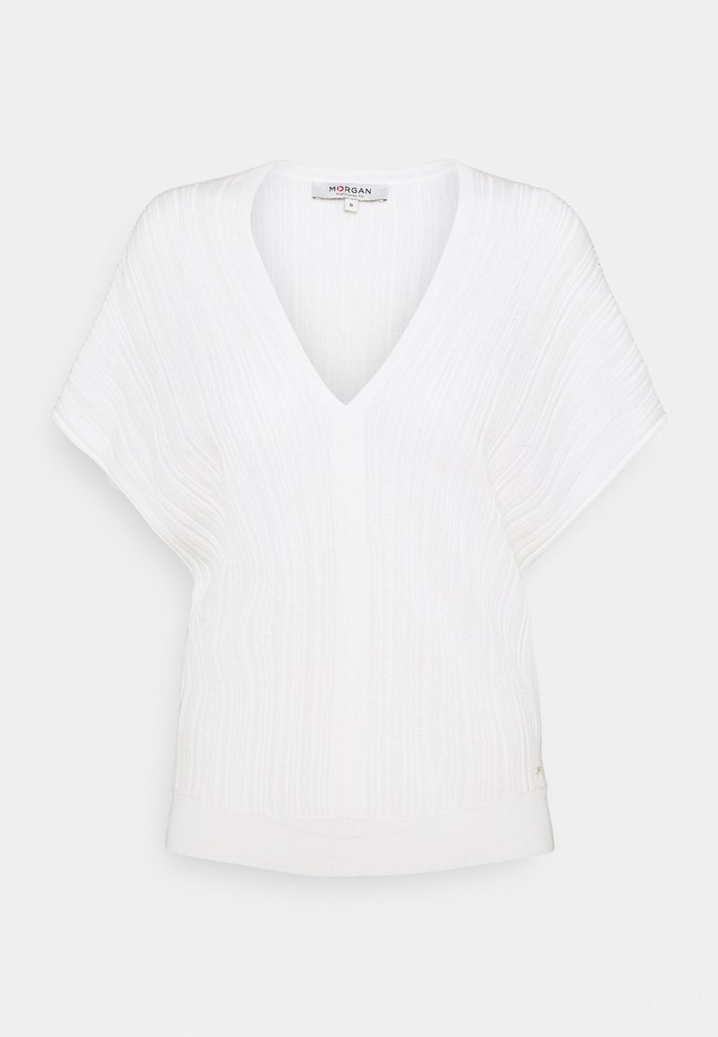 Morgan - MFY - Basic T-shirt - off white
