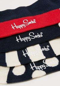 Happy Socks - DOT GIFT BOX 4 PACK - Socks - navy - 2