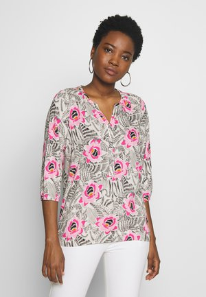 Long sleeved top - pink bloom combi