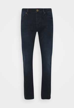 JONES - Jeans slim fit - dark-blue denim