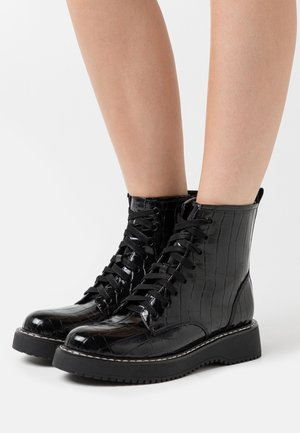 KURRT - Platform ankle boots - black