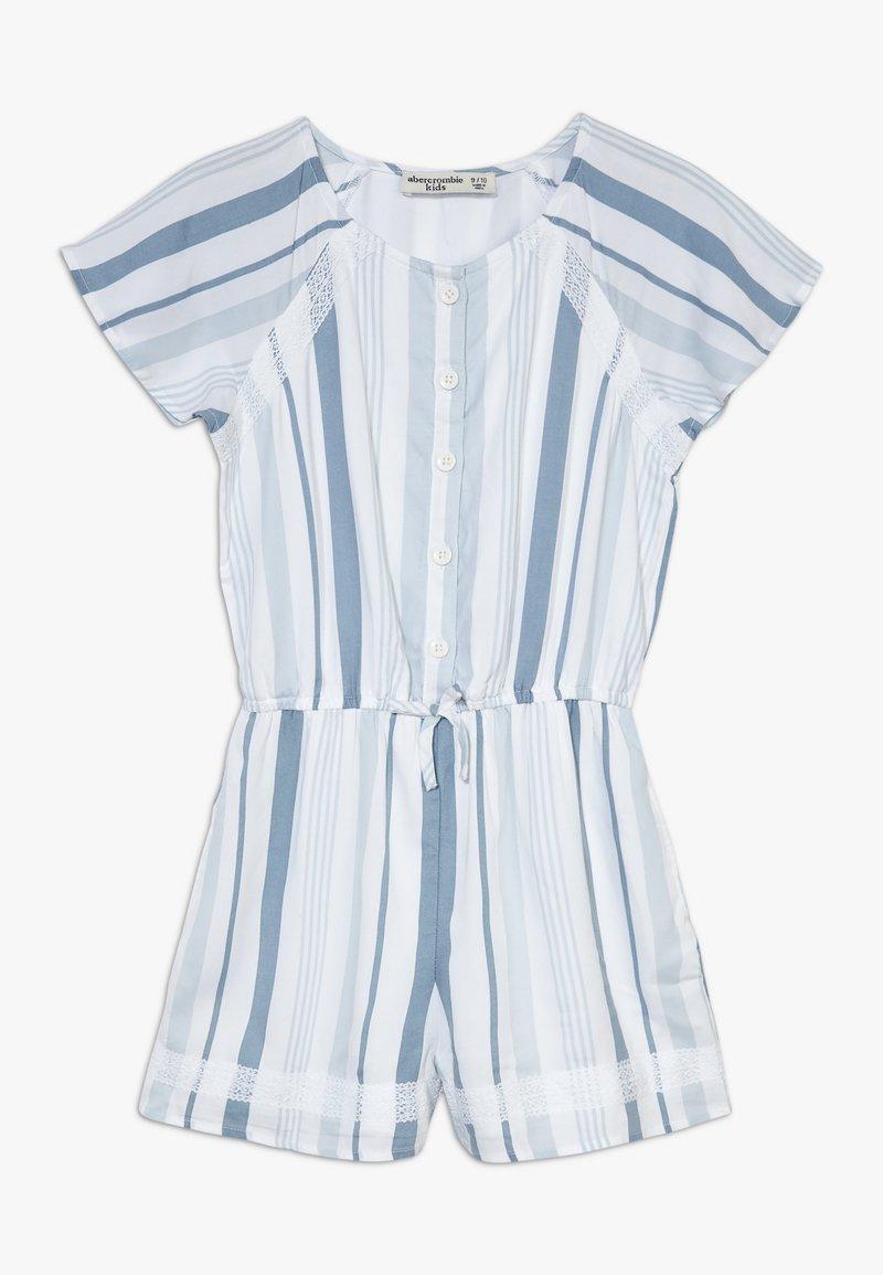 Abercrombie & Fitch - Jumpsuit - blue/white