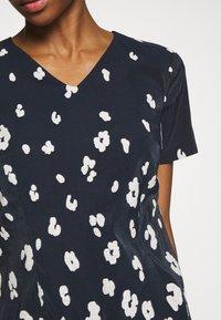 More & More - DRESS  - Kjole - marine/multicolor - 5