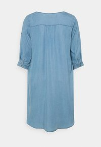 ONLY Carmakoma - CARJEMMA LIFE DRESS - Day dress - medium blue denim - 1
