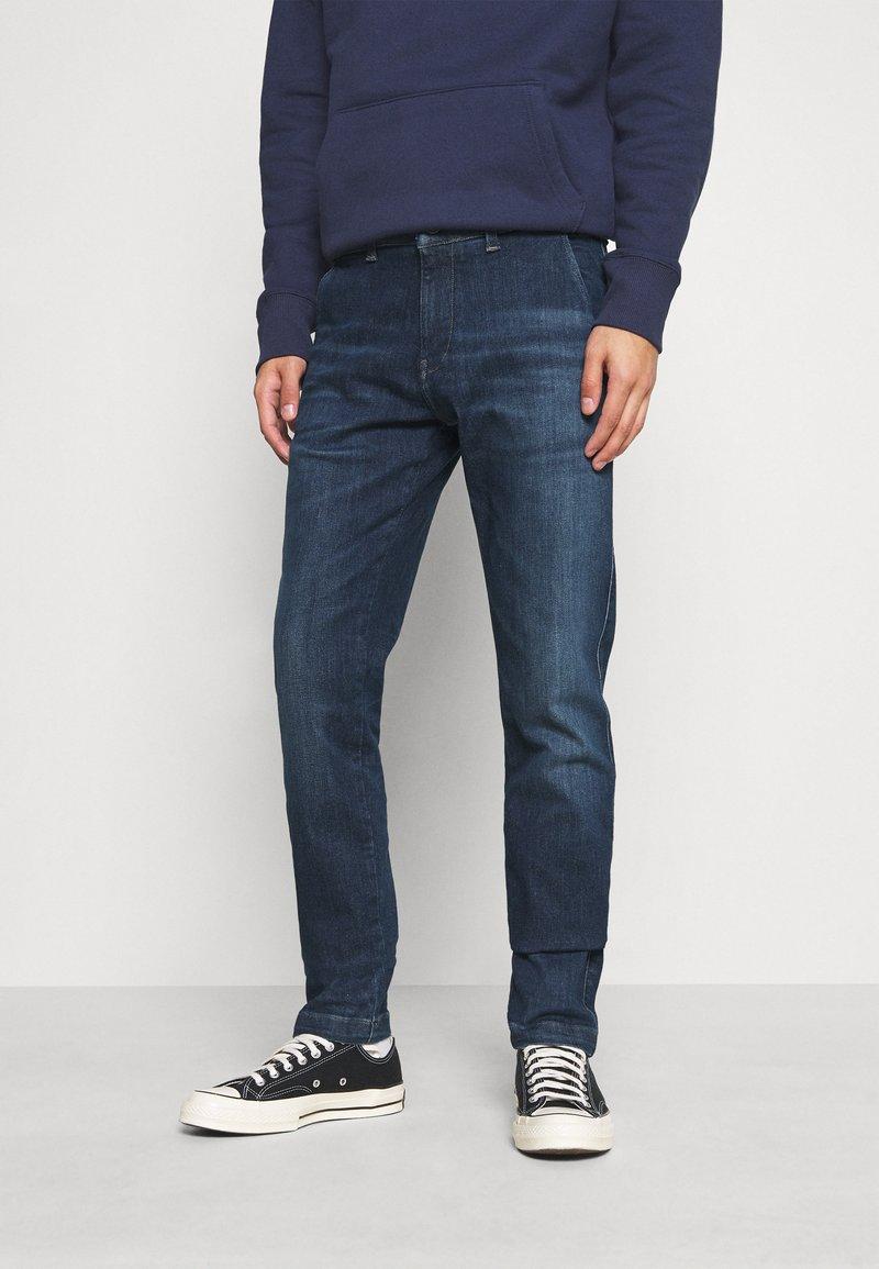 Tommy Jeans - SLIM - Jeans slim fit - queens dark blue