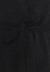 CLOSED - WOMEN´S WRAP CARDIGAN MIDI - Cardigan - black - 2