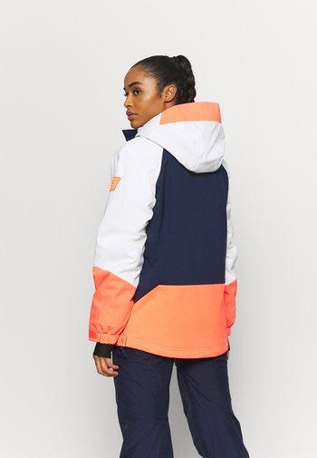 ORIGINALS ANORAK - Snowboard jacket - powder white