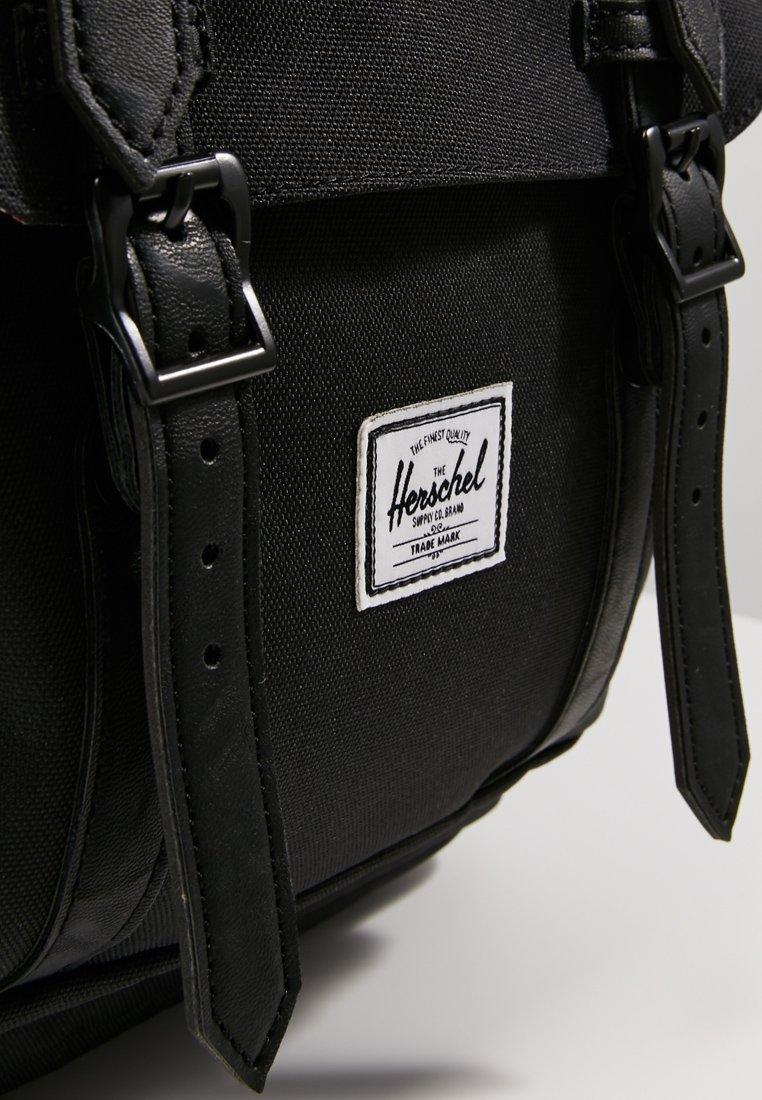 Herschel LITTLE AMERICA  - Tagesrucksack - black/schwarz - Herrentaschen NjOU8
