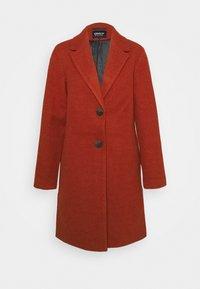 ONLNATALIA COAT - Classic coat - red ochre/melange