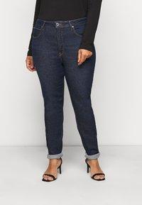Lee Plus - SUPER HIGH SCARLETT - Jeans Skinny Fit - dark pamela - 0