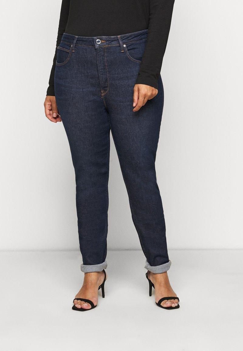 Lee Plus - SUPER HIGH SCARLETT - Jeans Skinny Fit - dark pamela