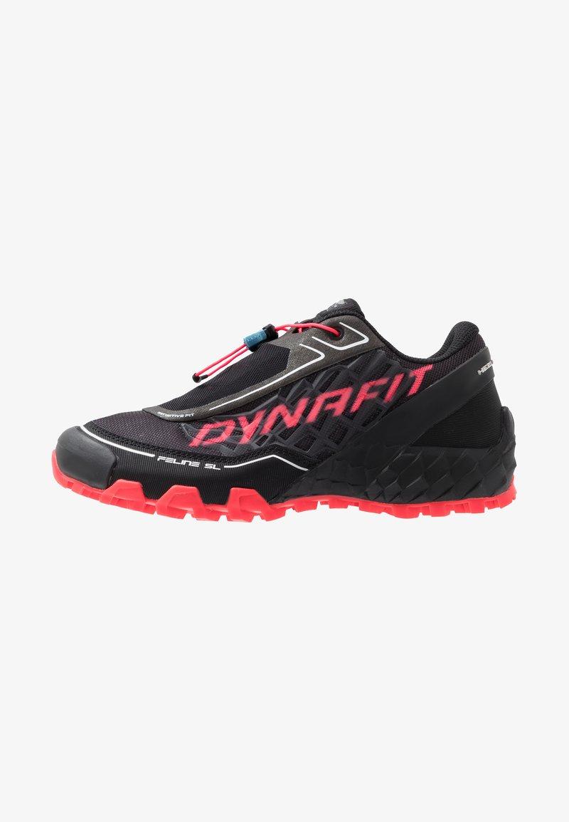 Dynafit - FELINE SL - Obuwie do biegania Szlak - black/fluo pink