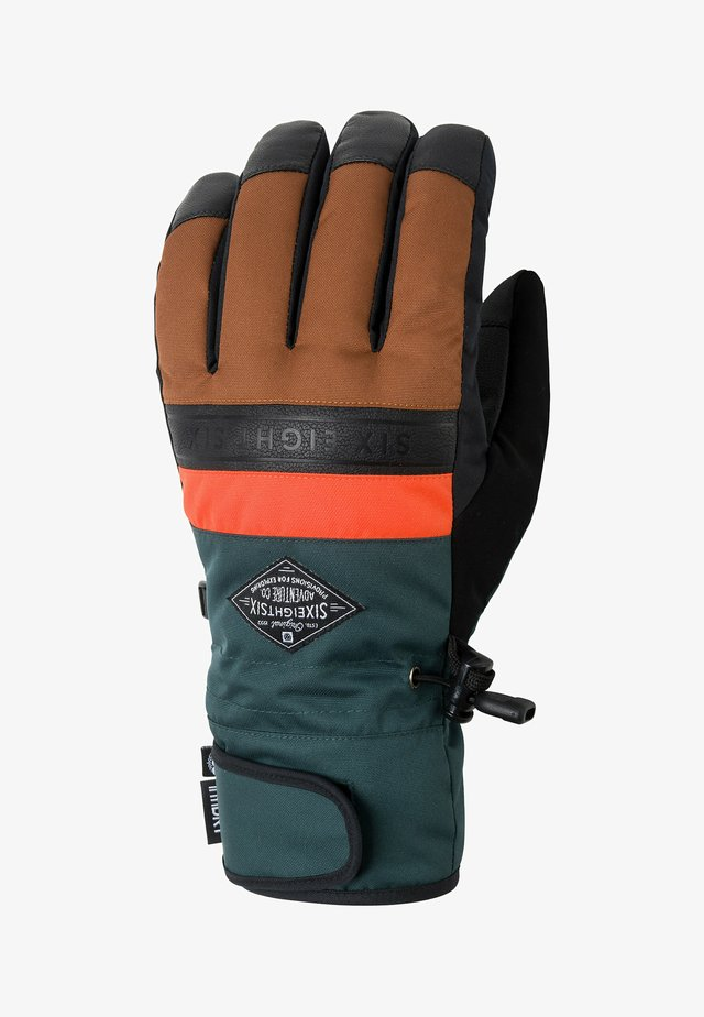 Gloves - clay colorblock