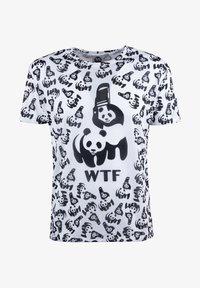 Mr. GUGU & Miss GO - Print T-shirt - white - 8