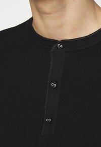 rag & bone - GIBSON  - T-shirt à manches longues - black - 6