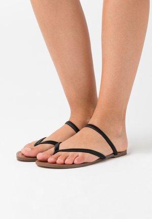 ENJOY  - Sandály s odděleným palcem - black