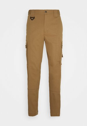 P-FREDDY TROUSERS - Pantalones cargo - camel