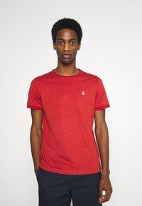 s.Oliver - KURZARM - T-shirt basique - orange - 0